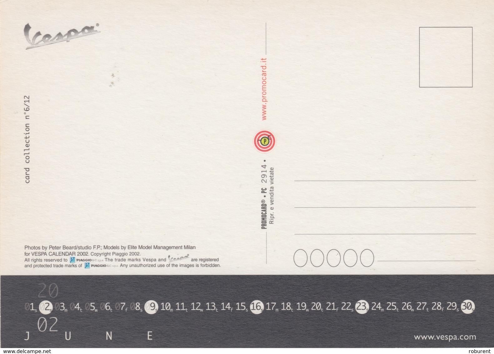 "PUBBLICITA' ADVERTISING CARTOLINA PROMOCARD ""VESPA"" - N°2914 - Reclame"