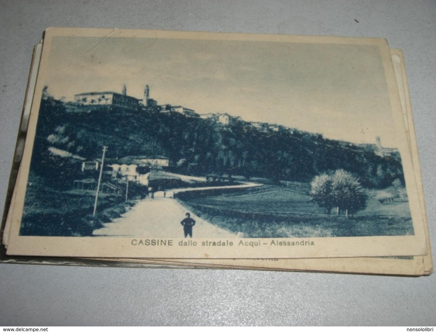 CARTOLINA CASSINE-DALLO STRADALE ACQUI - Alessandria