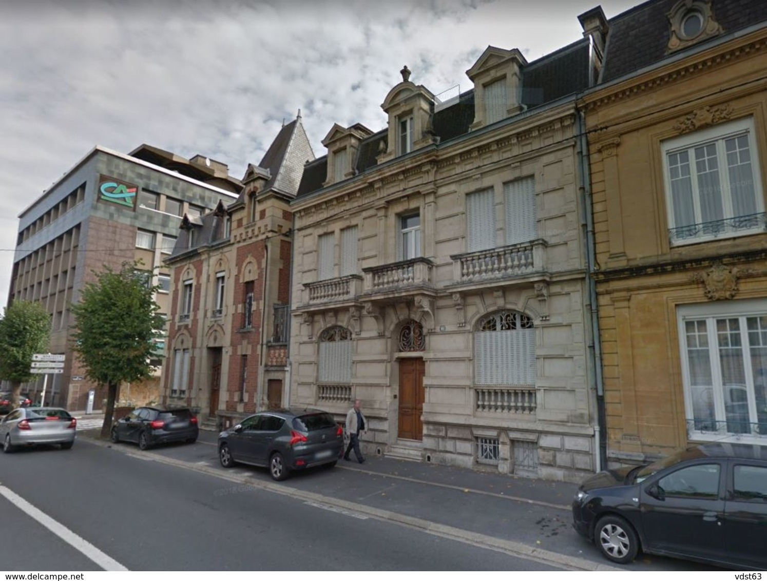 08 CHARLEVILLE MEZIERES 1907 Carte Photo Maison De Maître Rue FOREST N° 11 Actuellement Avenue Forest N° 46 - Charleville