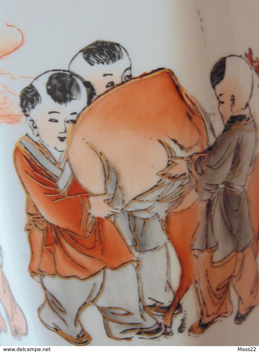 Egg-Shell Porcelain - Very Light And High Quality Japan Vase - Otros