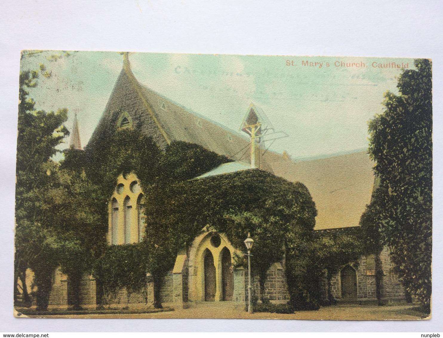 AUSTRALIA - Victoria - St. Mary`s Church Caulfield - 1906 - Sonstige