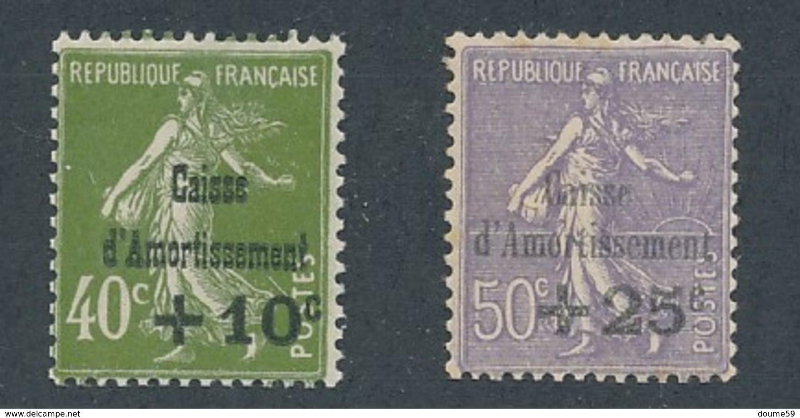 CX-214: FRANCE: Lot Avec N°275*-276* - France