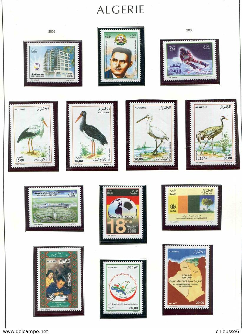 Algérie 2006 Année Complète - Algeria (1962-...)
