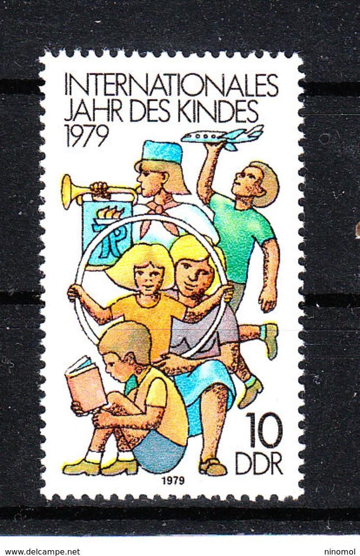 Germania Est  - 1979. Bimbo Aeromodellista, Trombettista, Sudente. Model Aircraft Child, Trumpeter, Student. MNH - Altri