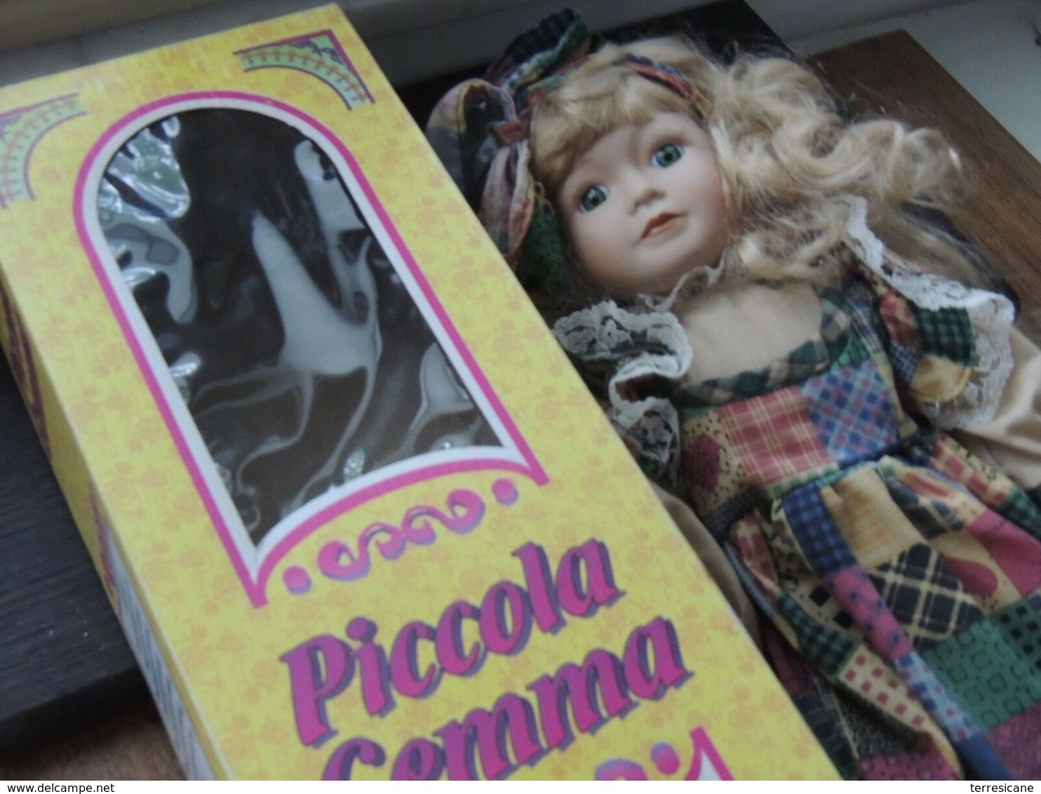 G4 BAMBOLA PORCELLANA COLLEZIONE MANOLO PICCOLA GEMMA VINTAGE BOX - Bambole