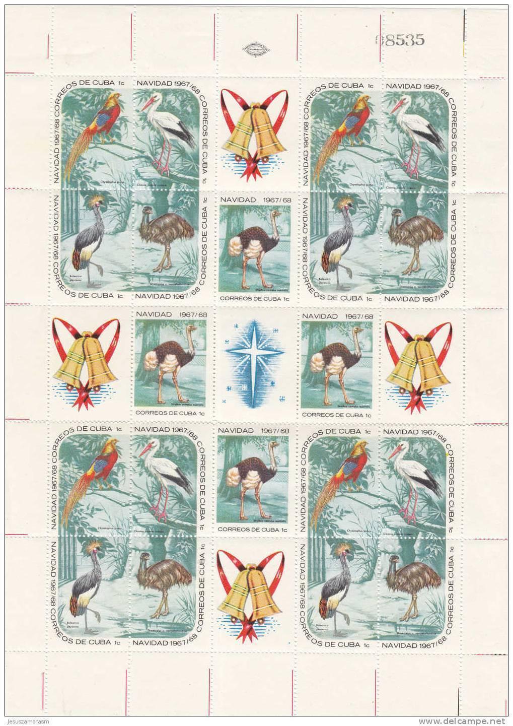 Cuba Nº 1186 Al 1200 En Minipliegos De Cuatro Series - Kuba