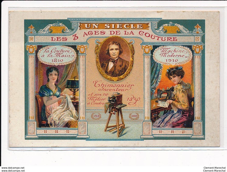 LYON : Thimonnier & Cie, Les Specialistes De La Machine à Coudre, Publicité - Tres Bon Etat - Other