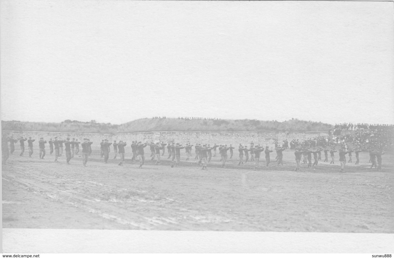 Namur - Lot 7 Cartes Photo Plateau De La Citadelle - Fête Militaire Manoeuvres Démonstration 1906 RARE Top Animation - Namur