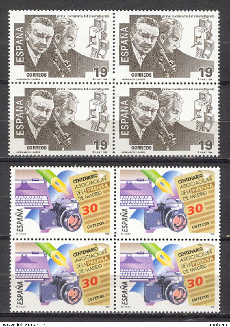 Spain. 1995 - Efemerides Ed 3362-63 Bloque (**) - 1931-Hoy: 2ª República - ... Juan Carlos I