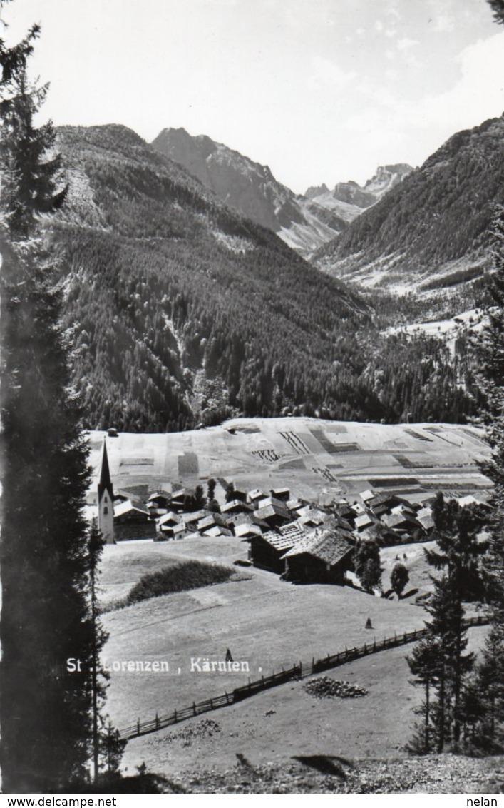 ST. LORENZEN-KARNTEN- VIAGGIATA 1958  -REAL PHOTO - Lesachtal