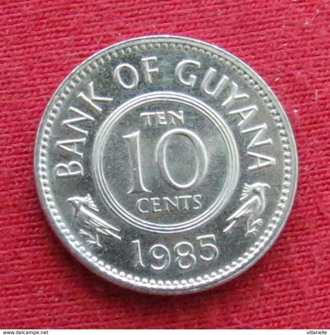Guyana 10 Cents 1985 KM# 33  Guiana - Guyana