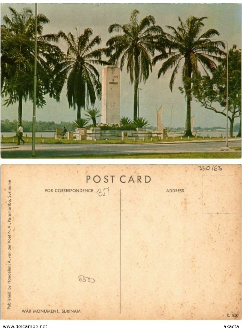 CPM SURINAME-War Monument (330163) - Surinam