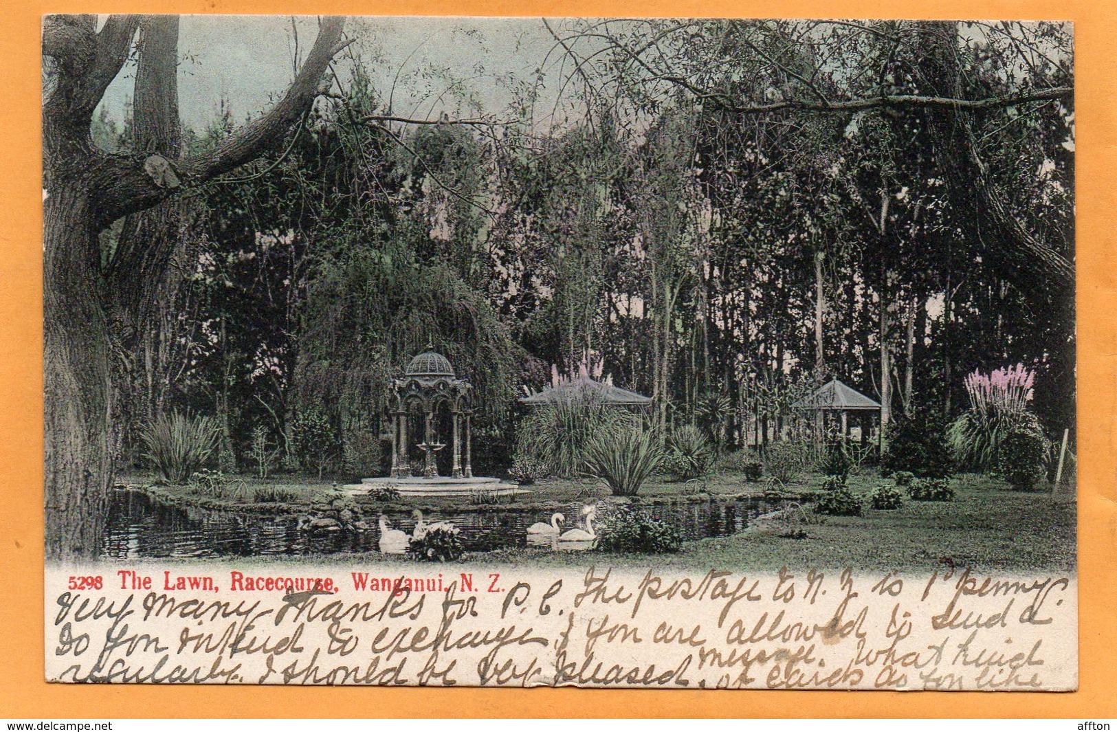 Wanganui New Zealand 1905 Postcard Mailed - New Zealand