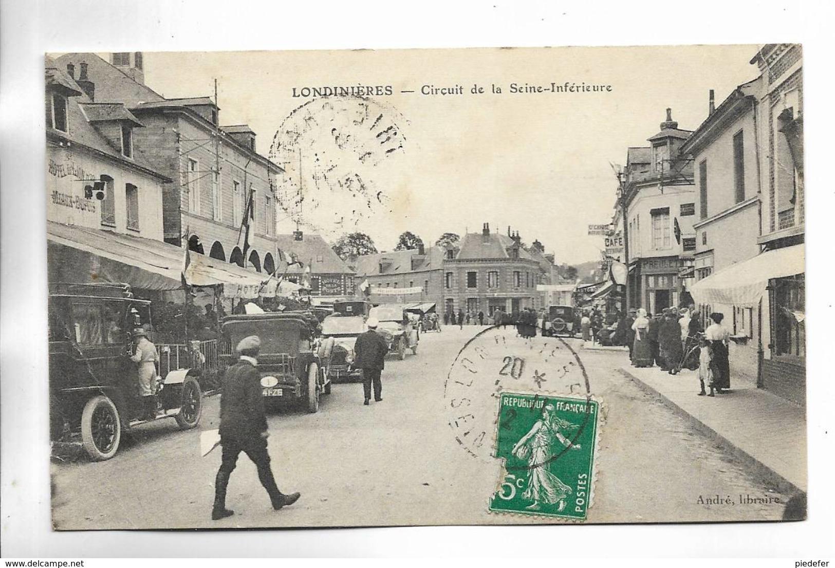76 - LONDINIERES - Circuit De La Seine-Inférieure - Londinières