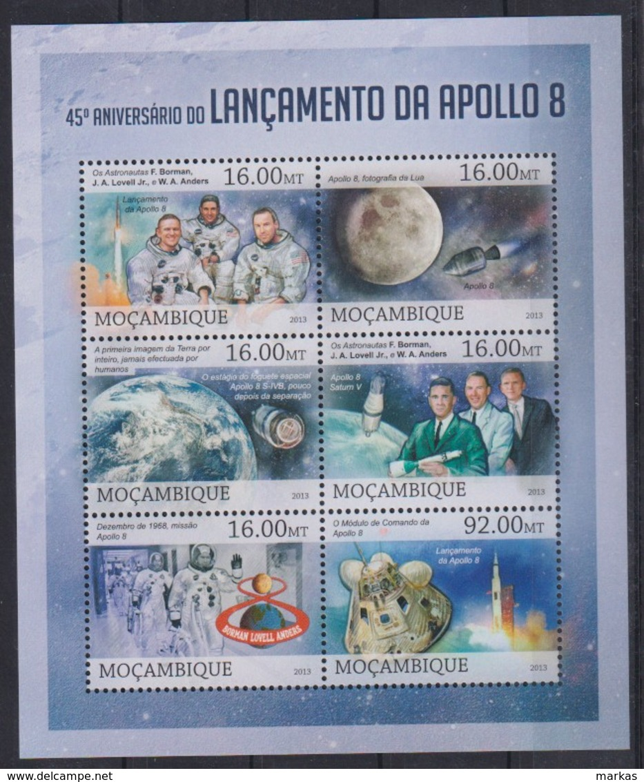 U276. Mozambique - MNH - 2013 - Space - Apollo 8 - Other