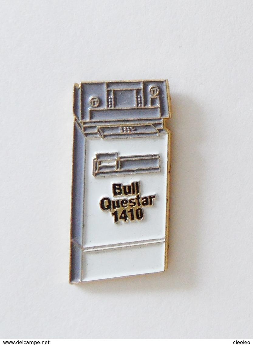 Pin's Informatique Video TV - Ordinateur  BULL QUESTAR 410 - Informatique
