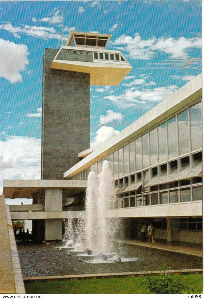 1 AK Brasilien * Brasilia - Fountain And Bubble Tower Of The International Airport Of Brasilia * - Brasilia