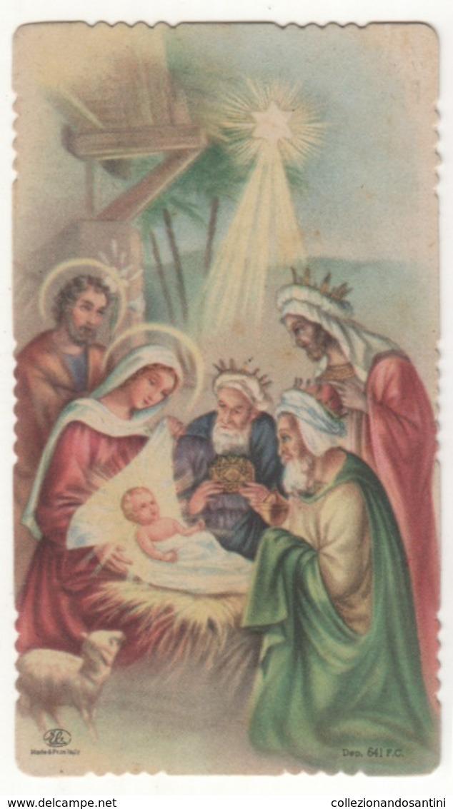 Santino Antico Fustellato Santi Re Magi  EB ELE  DEP. 641 F.c. - Religion & Esotericism