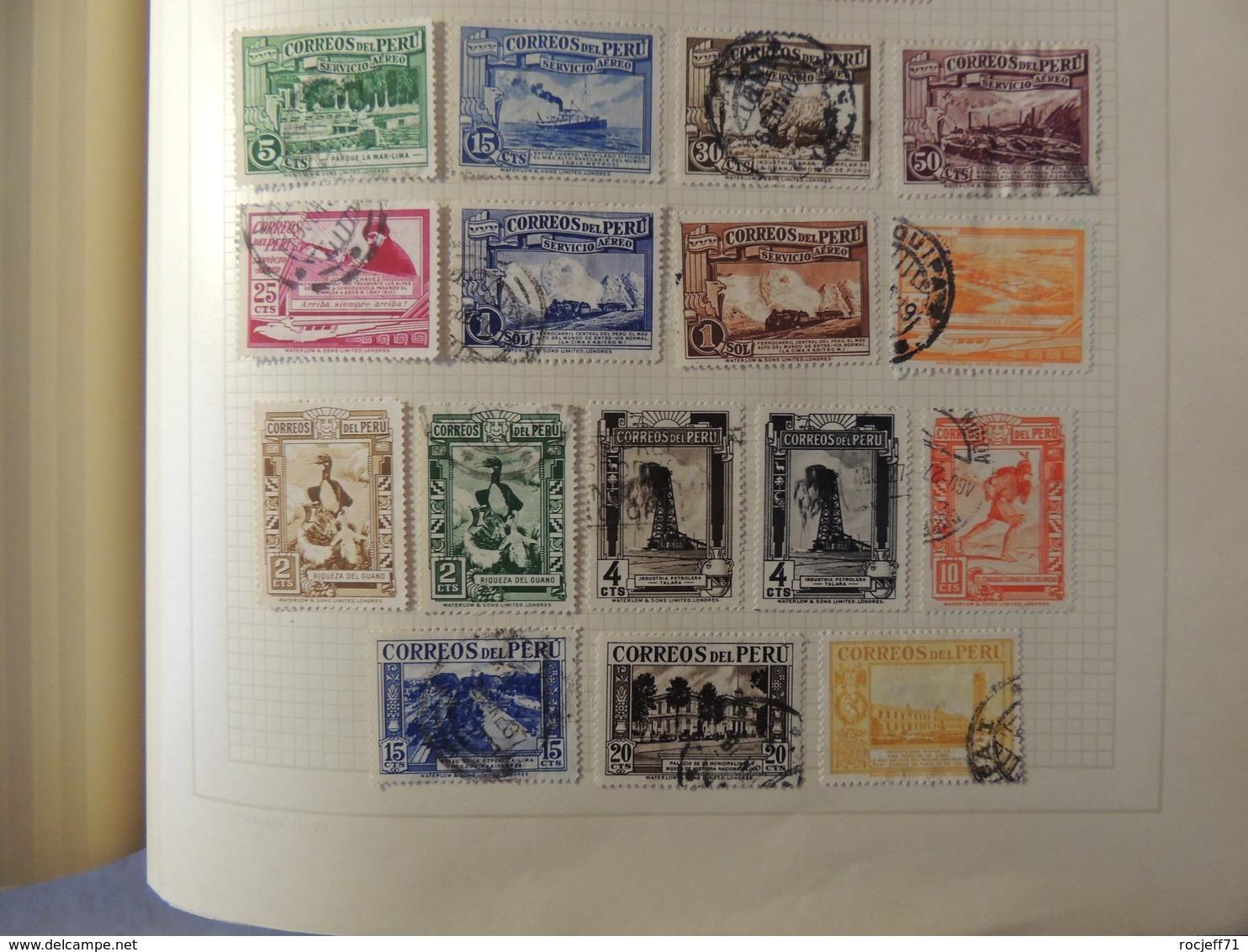 Perou  - Collection Sur Page D'album -  // 5 Scans - Briefmarken