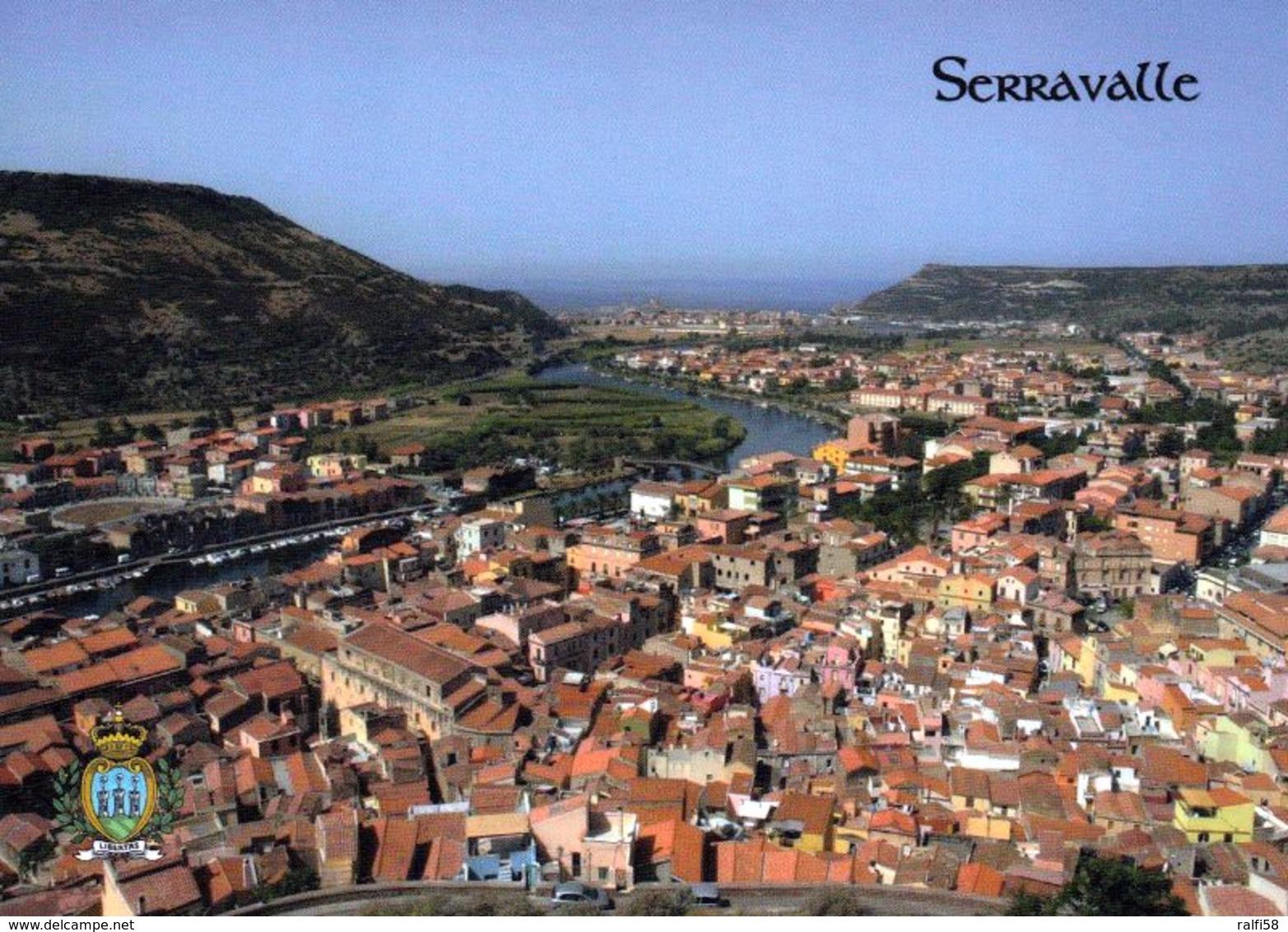 1 AK San Marino * Blick Auf Serravalle - Die Größte Und Am Dichtesten Besiedelte Gemeinde Der Republik San Marino * - San Marino