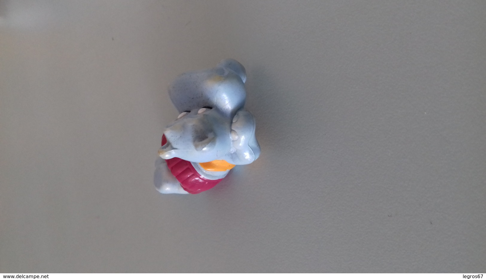 FIGURINE FERRERO HIPPOPOTAME 92 BRONZETTE MAILLOT ROUGE - Figurines