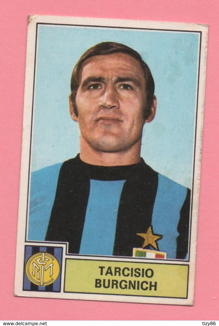 Figurina Panini Tarcisio Burgnich, Inter 1971/72 - Trading Cards