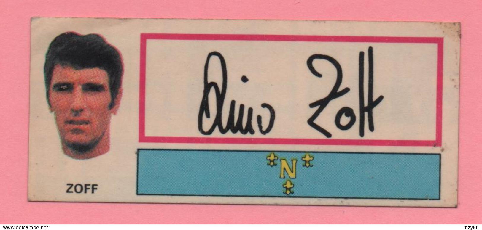 Figurina Panini Fuori Raccolta 1971/72 Con Velina - Zoff - Trading Cards