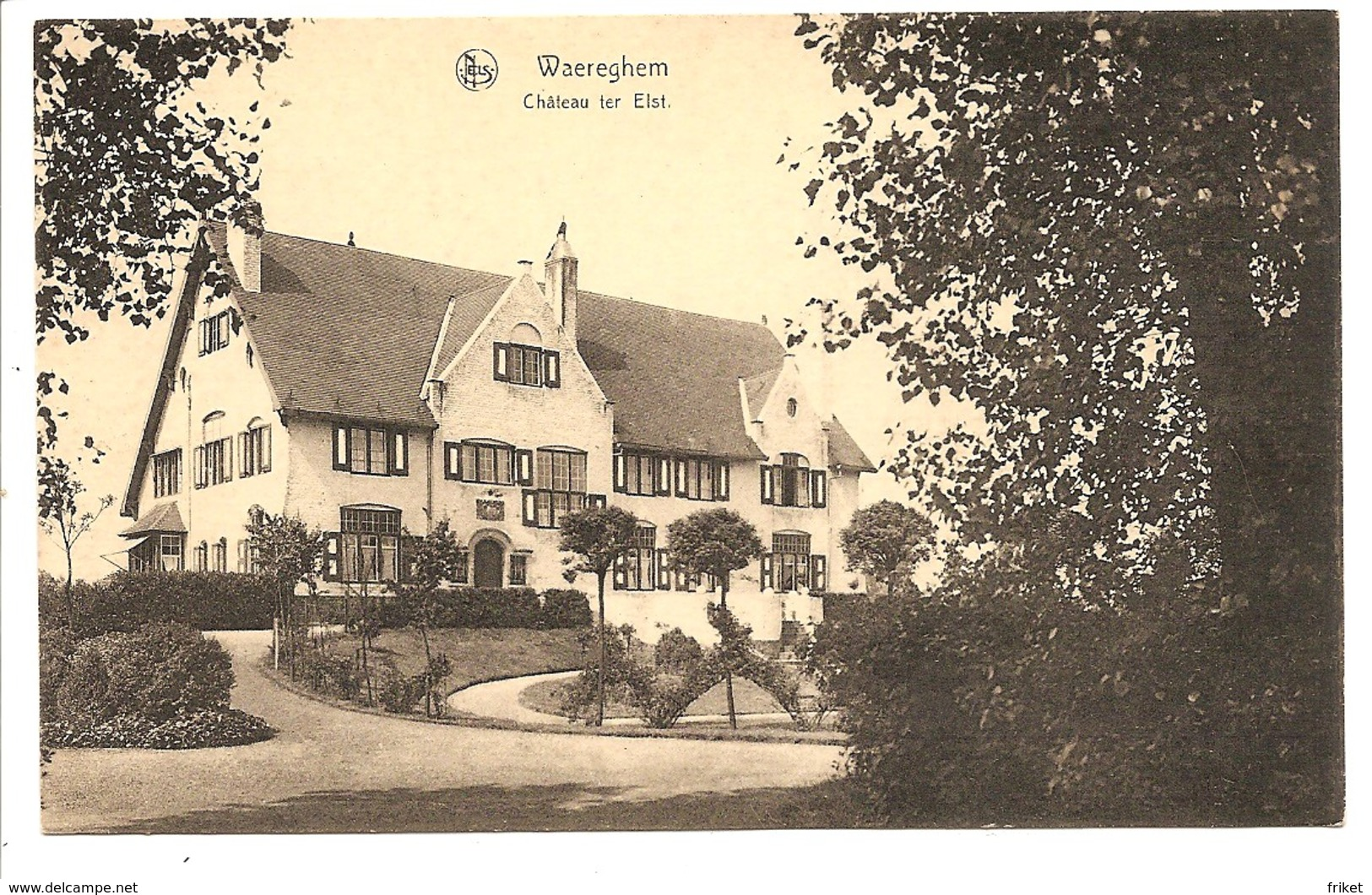 WAREGHEM  Chateau Ter Elst - Waregem