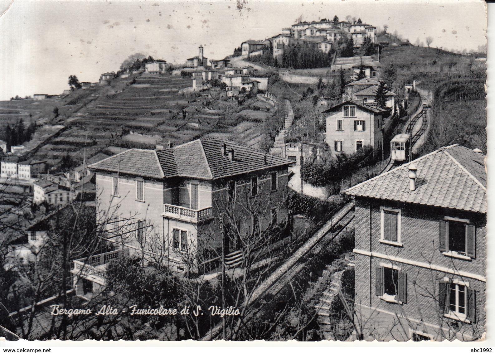 478 -  Bergamo Alta - Funicolare - Italia