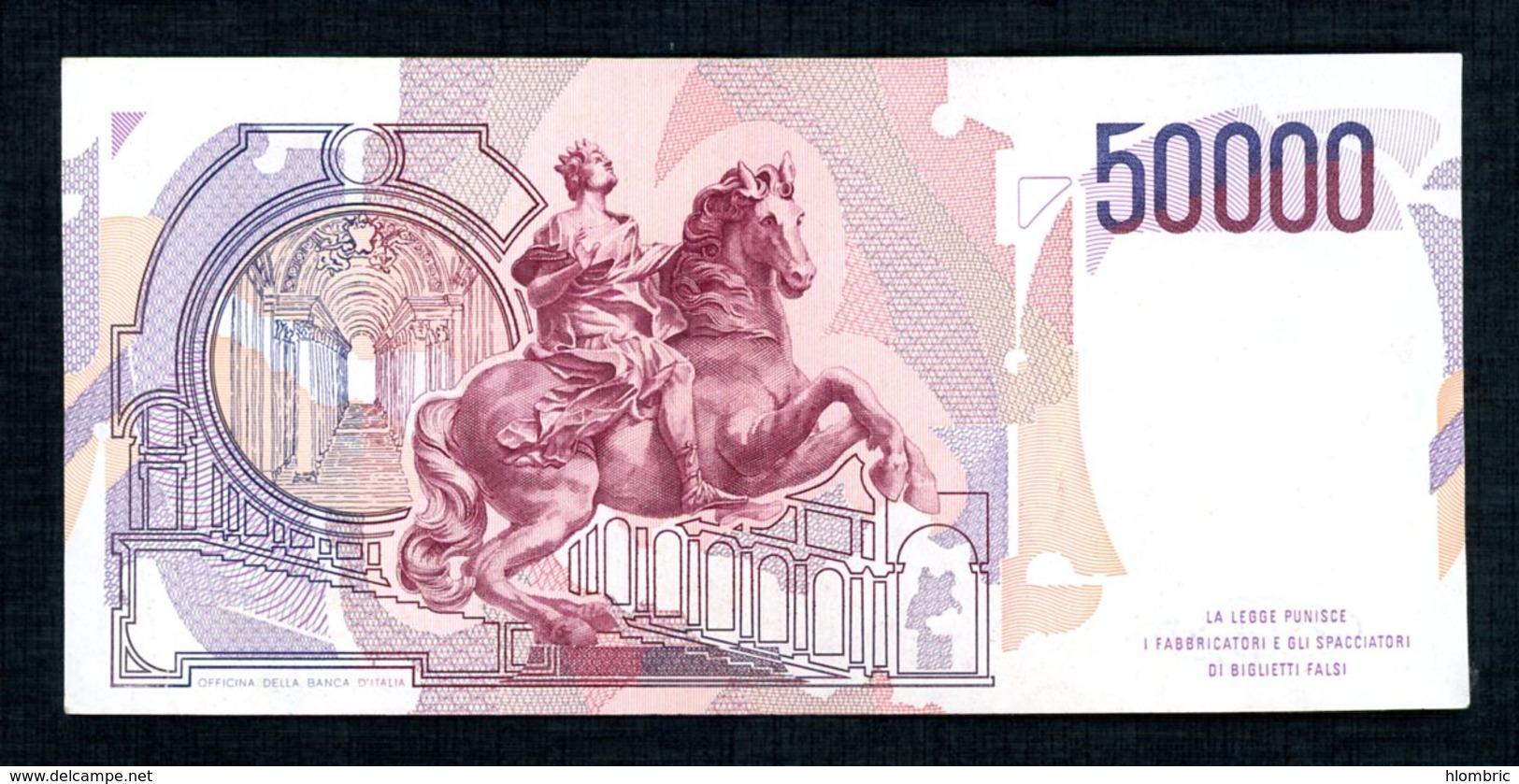 Italie  50.000 Lire - [ 2] 1946-… : République