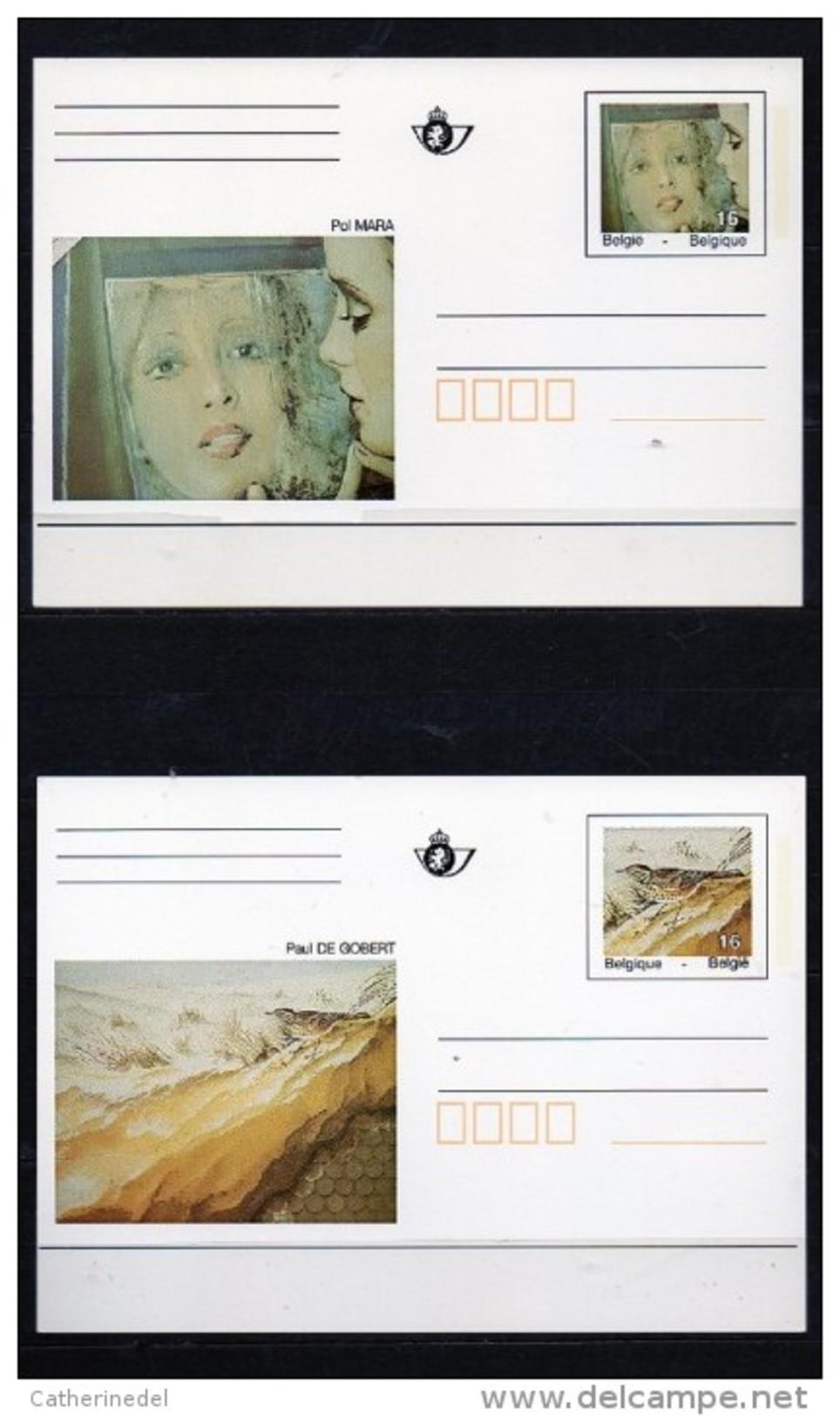 Année 1996 - CA50-CA51/BK50-BK51 - Métro Bruxellois - Entiers Postaux