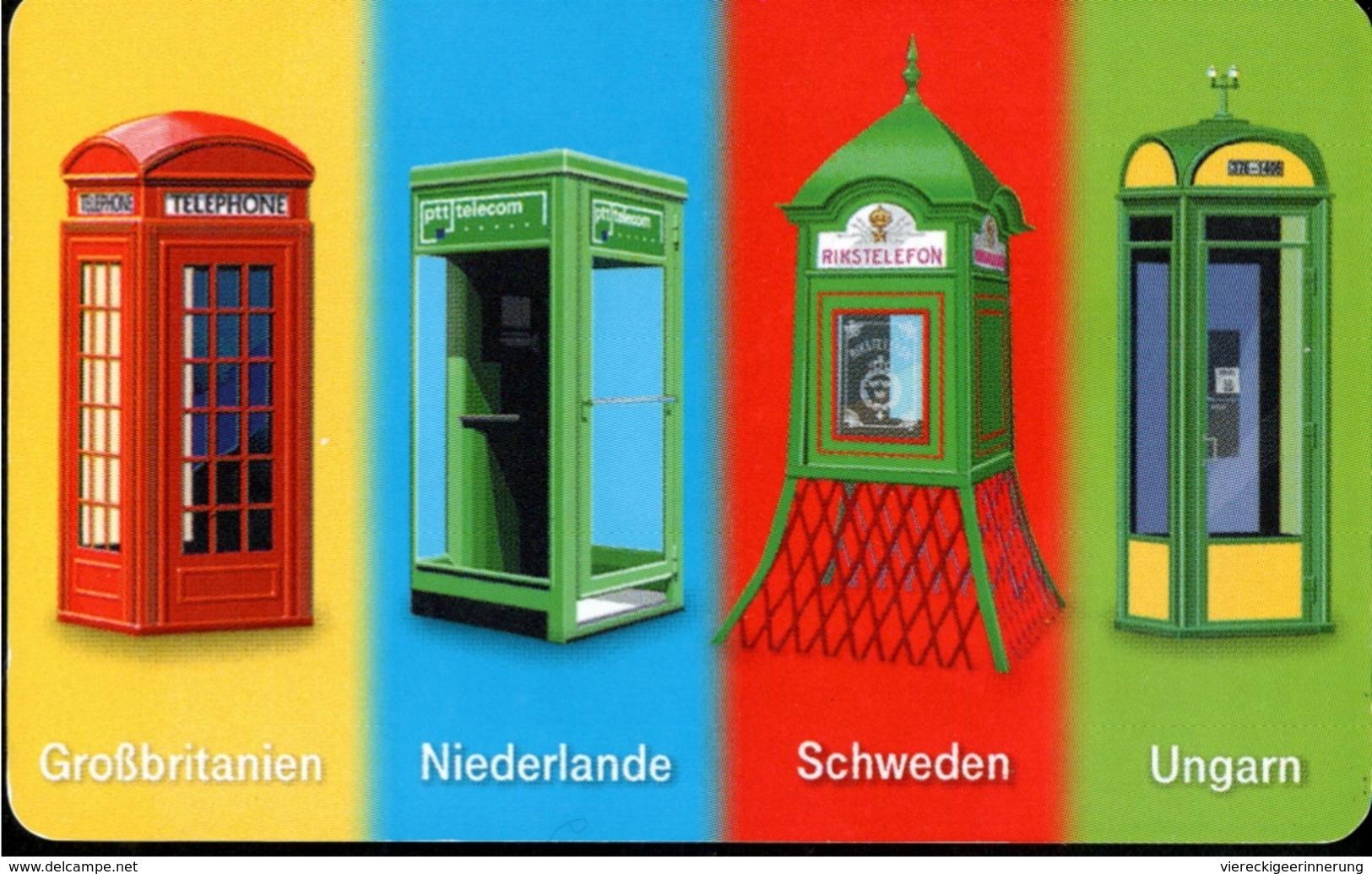 ! Telefonkarte, Telecarte, Phonecard, 1999, P17, Auflage 500000, Telekom Telefonhäuschen, Germany - Alemania