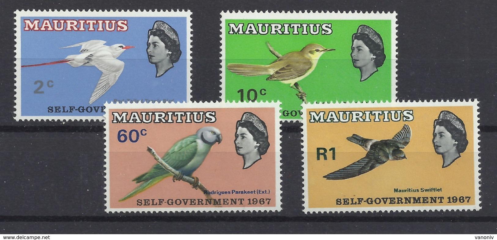 Mauritius 294/297 ** - Mauricio (...-1967)