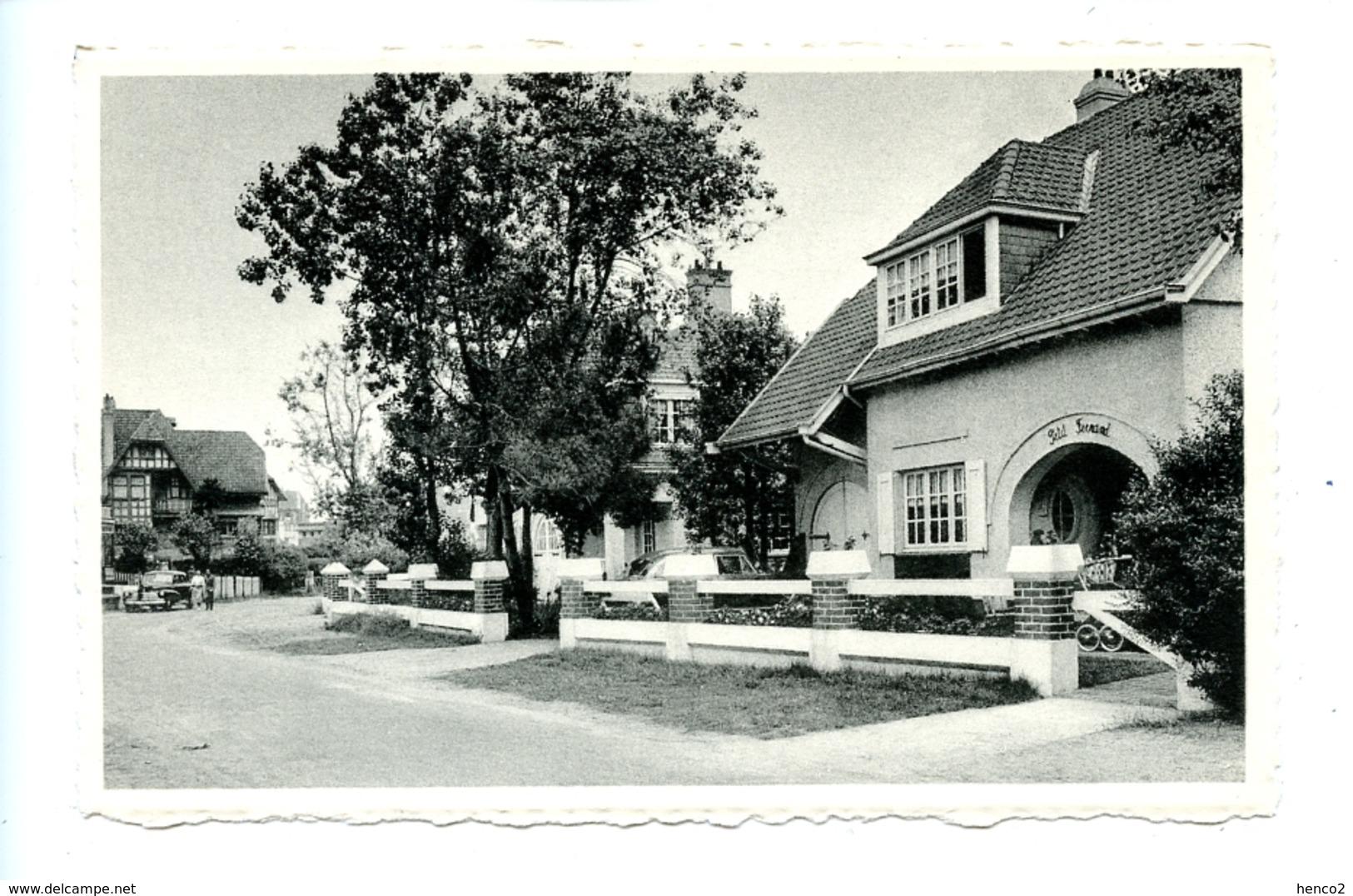 Coq - Den Haan - Avenue Shakespeare Et Villa Petit Fernand - De Haan
