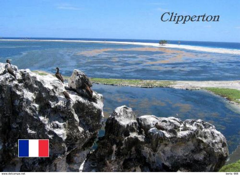 Clipperton Island View Ile De La Passion New Postcard - Frankreich