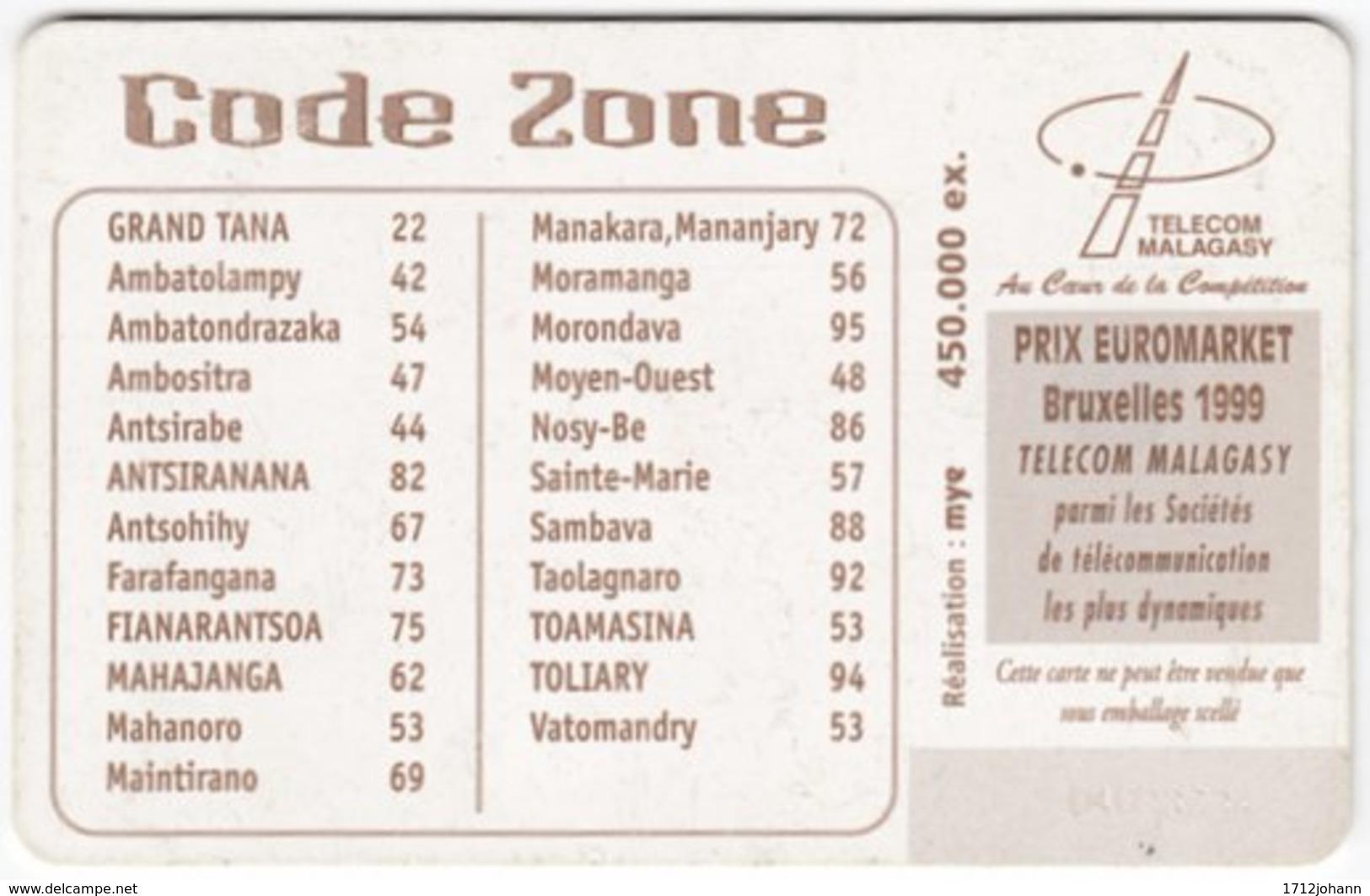 MADAGASCAR A-040 Chip Telecom - Used - Madagaskar