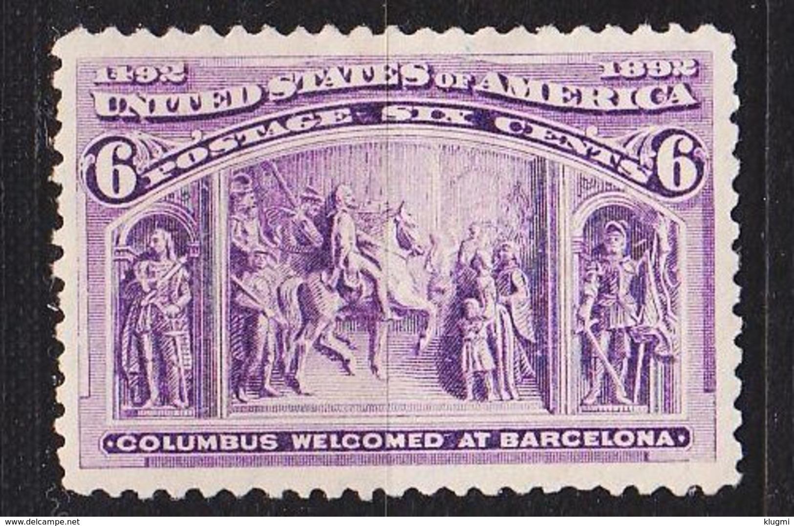USA [1893] MiNr 0078 ( */mh ) - 1847-99 Unionsausgaben