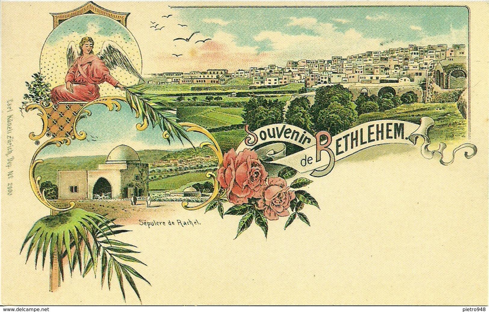 Bethlehem (Israele) Souvenir De Bethlehem, Riproduzione D10, Reproduction, Illustrazione - Israele