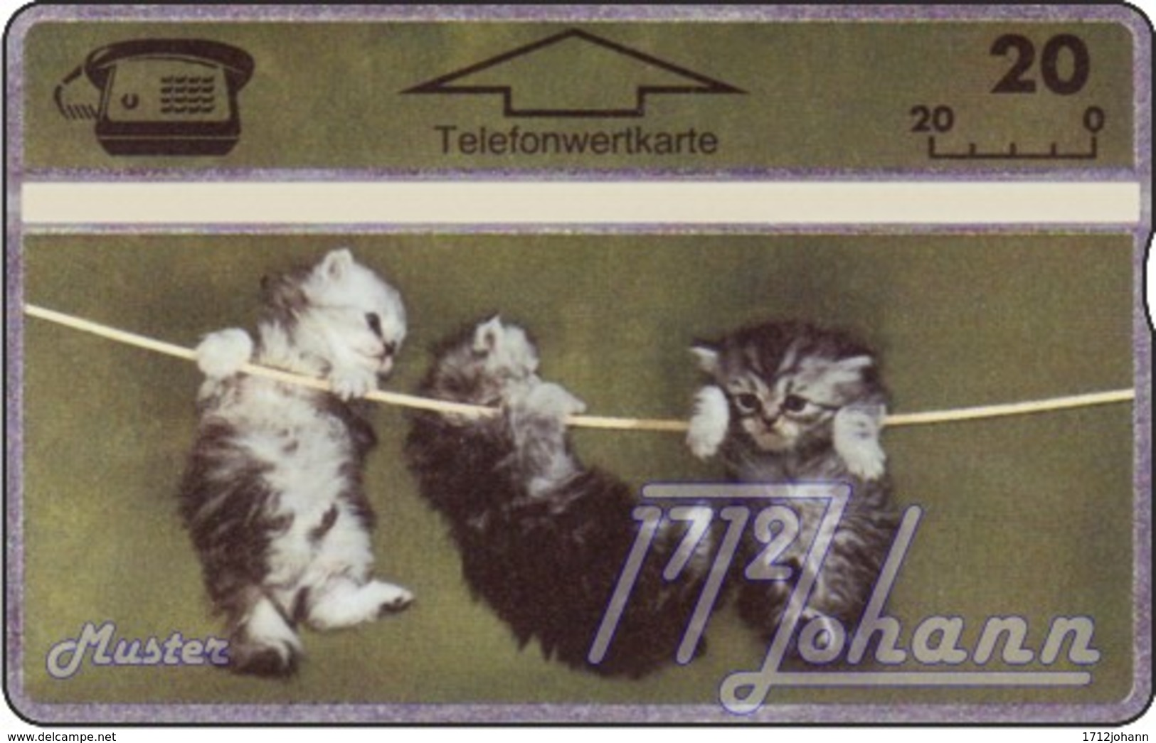 AUSTRIA Private: *Kätzchen* - SAMPLE [ANK P153] - Oesterreich