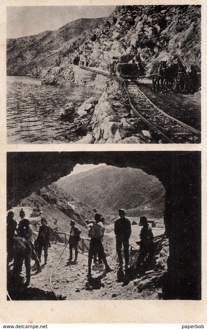 HORSE TRAIN , PFERDEFELDBAHN IN ALBANIA AND MONTENEGRO - Treni