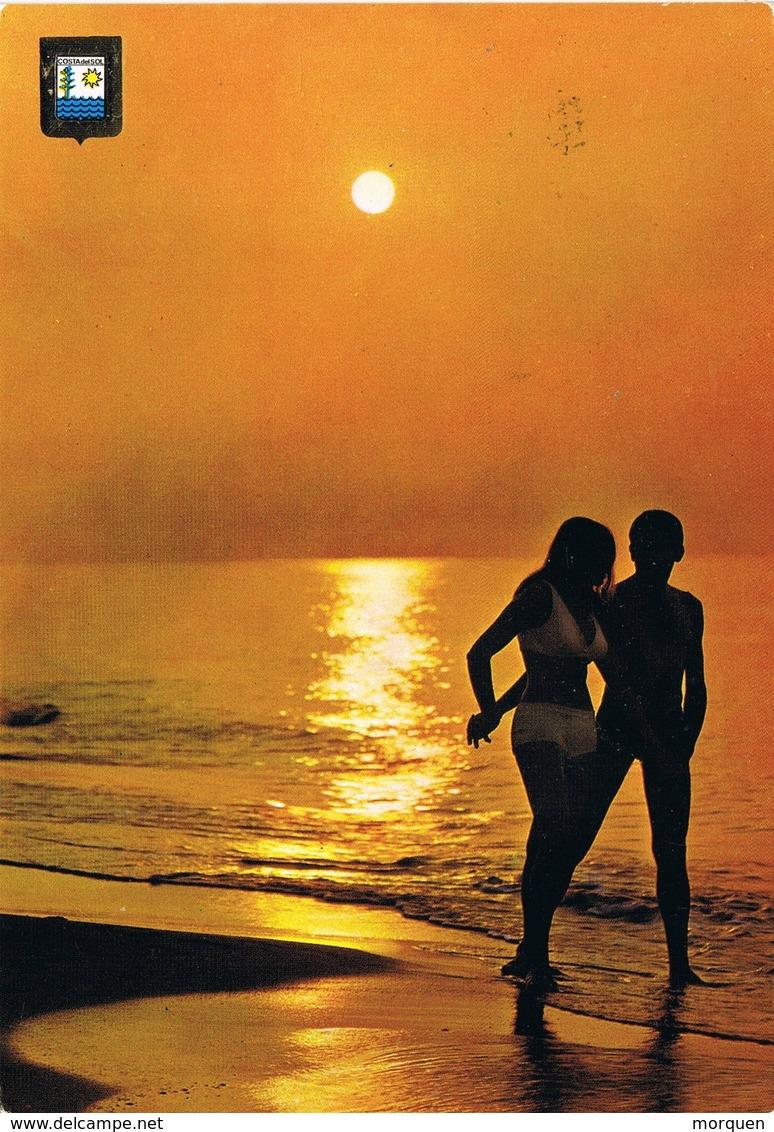 33635. Postal RONDA (Malaga) 1973. Playa Costa Del Sol - 1931-Hoy: 2ª República - ... Juan Carlos I