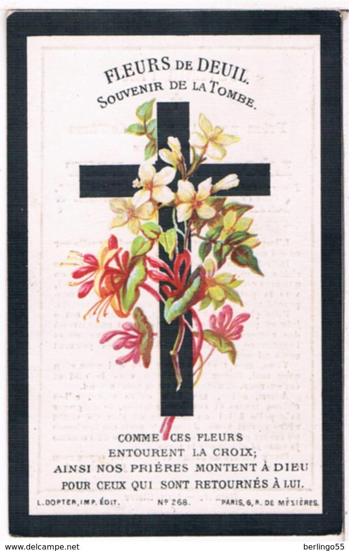 Priez Pour. Verbist Léonie. ° Corbais 1860 † Corbais 1898  (2 Scan's) - Religion & Esotericism