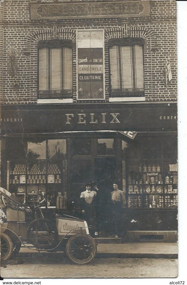 Beuzeville-Magasin Felix Epicerie. - France