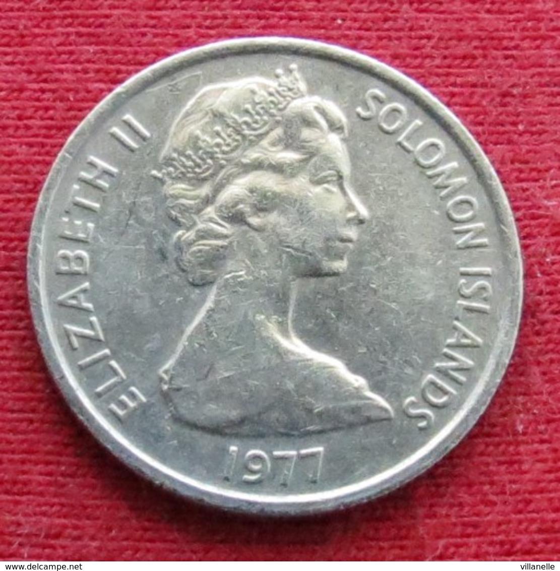 Solomon Islands 5 Cents 1977 KM# 3 *V2  Salomon Salomão - Salomonen