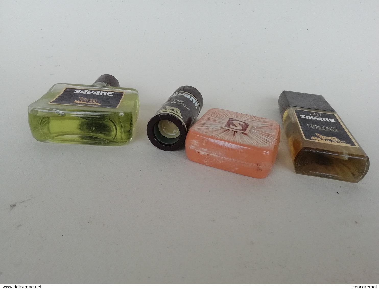 Coffret Ancien De Collection Parfumerie J.B. Williams, Savane, Après-rasage, Eau De Toilette, Savon, Déodorant - Men
