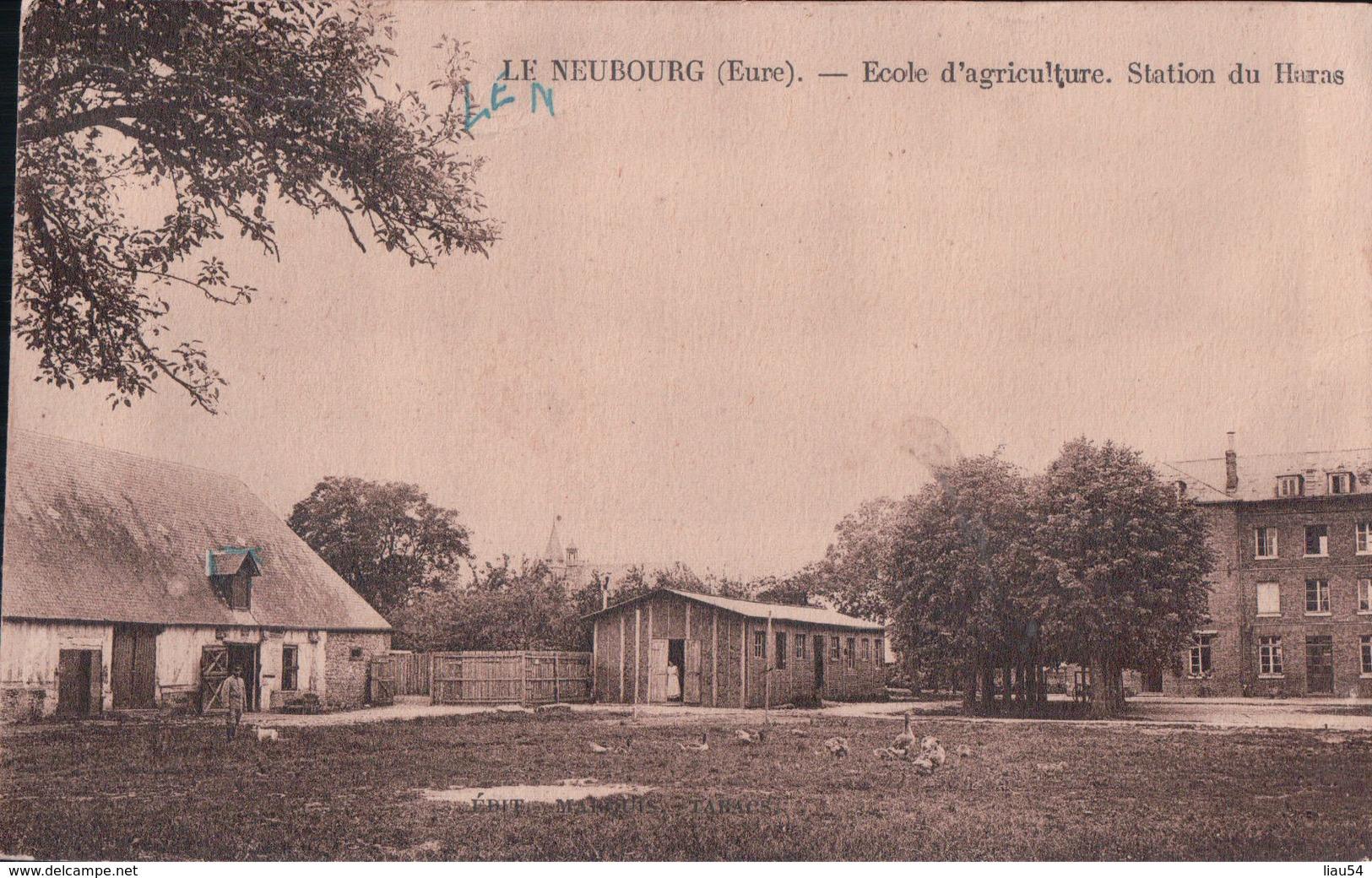 LE NEUBOURG Ecole D'agriculture Station Du Haras - Le Neubourg