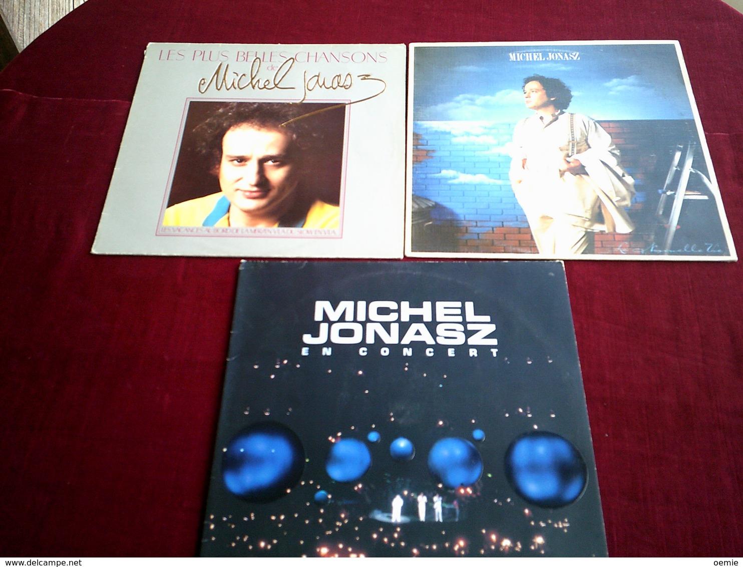 MICHEL  JONASZ   °  COLLECTION DE 11  VINYLES  DIFFERENTS - Vollständige Sammlungen