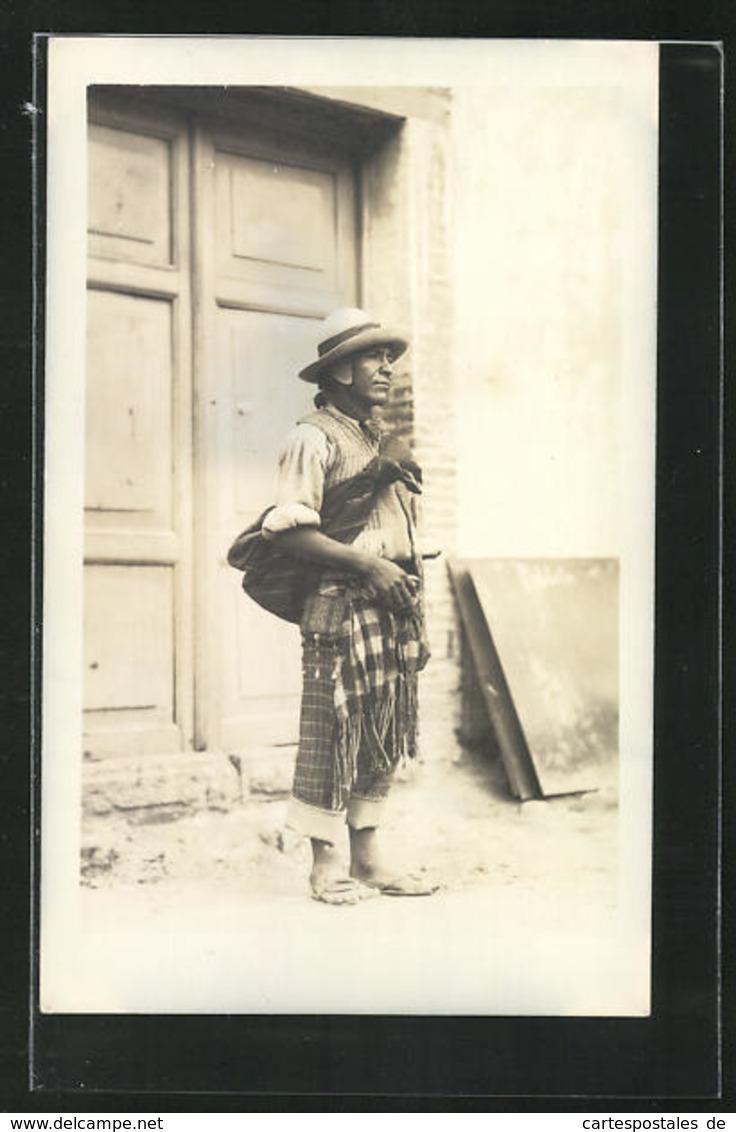 AK Bolivianer In Tracht - Bolivien