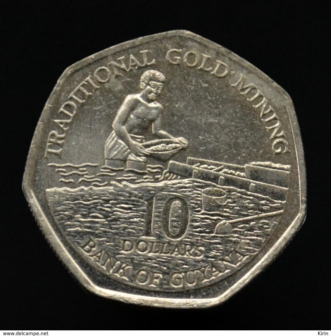 Guyana 10 Dollars 1996. Coin Km52 - Guyana