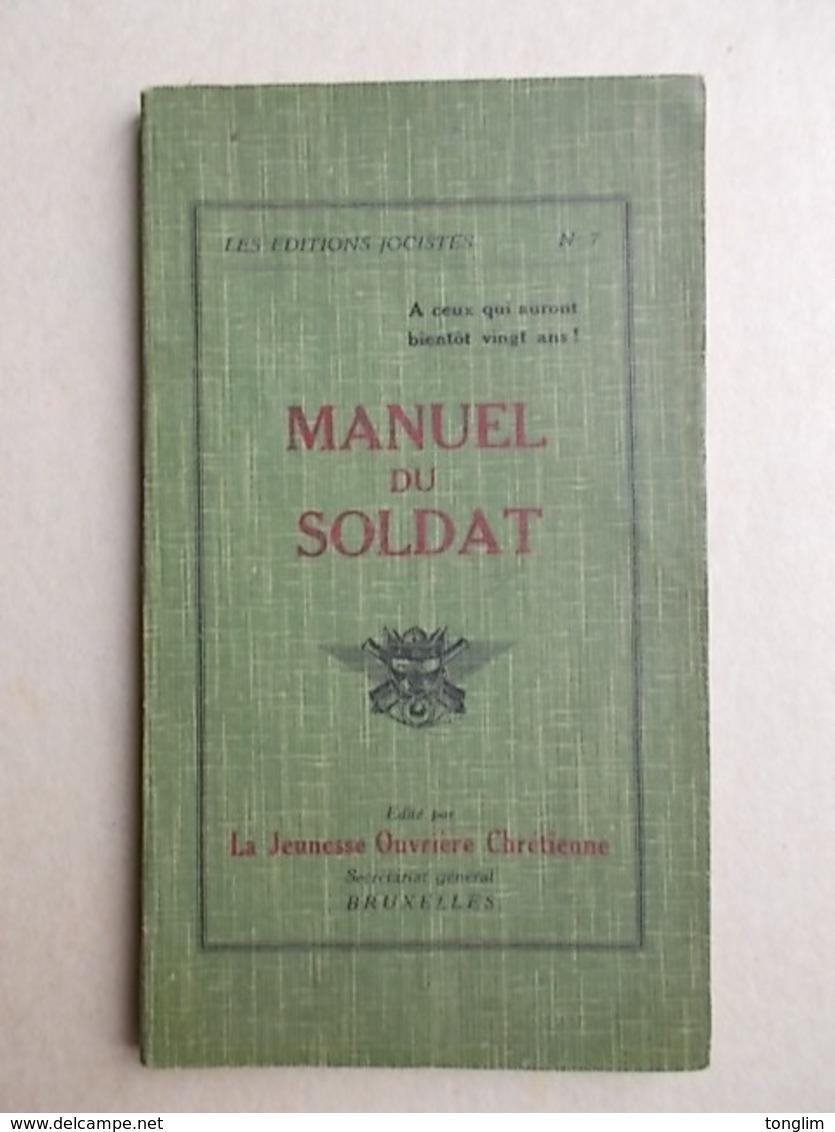 MANUEL DU SOLDAT  1927 - Documents